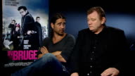 Playwright Martin McDonagh writes and directs film 'In Bruges' Colin Farrell and Brendan Gleeson interview SOT Martin didn't want it to be two...