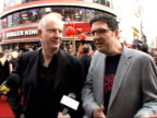 Red carpet interviews at Kung Fu Panda premiere John Stevenson and Mark Osbourne interview SOT On casting film and attracting big stars like Jolie...