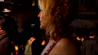 Royal premiere of 'The Young Victoria' Miranda Richardson talking to press/ Miranda Richardson interview SOT