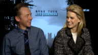 'Star Trek Into Darkness' Junket interviews Alice Eve and Simon Pegg interview SOT / JJ Abrams interview SOT /