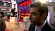 'Sucker Punch' UK premiere in London stars interviewed Oscar Isaac interview SOT On working with hot women awesome cock in the hen house *cough* / On...