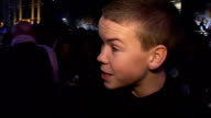'The Chronicles of Narnia The Voyage of the Dawn Treader' has royal premiere in London Arrivals Will Poulter interview SOT Talks of being the new guy...