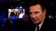 'The Chronicles of Narnia The Voyage of the Dawn Treader' has royal premiere in London Arrivals Liam Neeson interview SOT Wonderful to make the film...