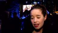 'The Chronicles of Narnia The Voyage of the Dawn Treader' has royal premiere in London Arrivals Anna Popplewell interview SOT Only in the film for a...