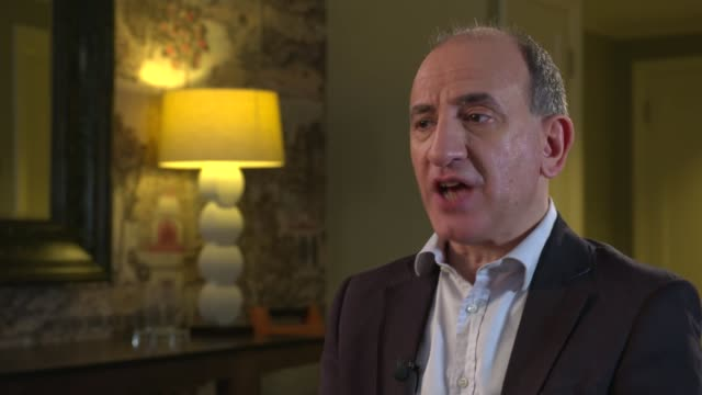 'The Death of Stalin' Armando Iannucci interview Armando Iannucci interview SOT re Russia CUTAWAY reporter