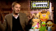 'The Muppets' Kermit the Frog Miss Piggy and James Bobin interviews James Bobin interview SOT On being a huge fan of The Muppets / handling the...