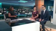 'To The Bone' criticised for its depiction of anorexia ENGLAND London GIR INT Natasha Devon and Tom Quinn LIVE STUDIO interview SOT