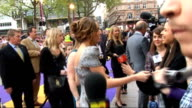 UK premiere of 'Hannah Montana The Movie' red carpet arrivals ***IV Other crews questions on what she does when it all gets too much get away from...