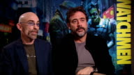 'Watchmen' interviews Earl and Morgan interview SOT Whether they read the graphic novel beforehand How much pressure they're feeling due to fans...