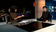 XY Asa Butterfield LIVE STUDIO interview SOT