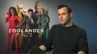 Zoolander 2 Cast interviews Theroux interview SOT on cameos in film got everyone we wanted on his wife Jennifer Aniston not being in movie called her...