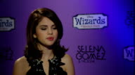 interview with actress and singer Selena Gomez ENGLAND London INT Selena Gomez interview SOT Says her Hammersmith Apollo gig was amazing Loves the...