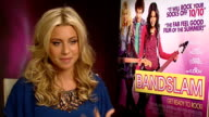 'Bandslam' Aly Michalka interview ENGLAND London INT Aly Michalka interview SOT Talks of being in 'Bandslam' with David Bowie and Lisa Kudrow / talks...