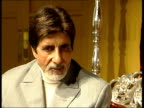 Bollywood star in London Bachchan interview SOT Some smart journalist coined word and it has stuck / it is more derogatory / it's now part of English...