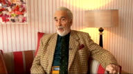 Christopher Lee interview Christopher Lee interview SOT doesn't watch himself on screen unless he has to attend a premiere explains why he hates...