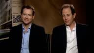 Greg Kinnear and Marc Abraham talk about 'Flash of Genius' ENGLAND London INT Greg Kinnear and Marc Abraham interview SOT Talk about new film 'Flash...
