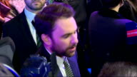 Horrible Bosses 2 Premiere More of Aniston conducting interviews / Charlie Day on red carpet / Aniston / Chrlie Day interview SOT / Charlie Day...