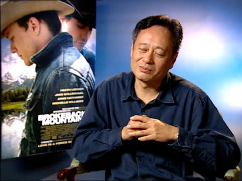 Interview with film director Ang Lee Explains low cost of making the film Explains casting of two male leads Explains how story was expanded by Larry...