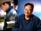 Interview with film director Ang Lee Technically difficult shots analytical brooding expect them to deliver Objections to the film being called 'a...