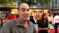 'Johnny English Reborn' premiere Oliver Parker interview SOT Talks about working with Rowan Atkinson / don't know what I am working on next / missed...