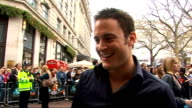 London premiere of film 'Race to Witch Mountain' Gary Lucy arriving Gary Lucy interview SOT believing in aliens enjoying the Bill cast looking fwd to...