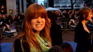 'Nanny McPhee and the Big Bang' London premiere Red carpet interviews Side view of Patsy Palmer speaking to reporters Patsy Palmer interview SOT On...