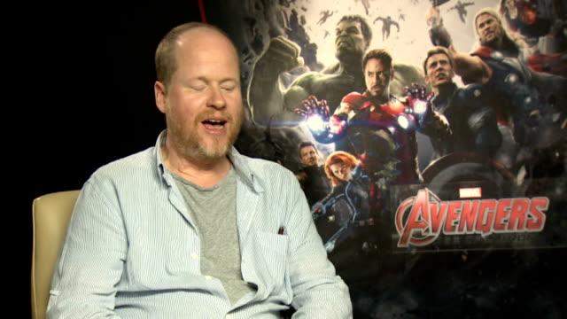 The Avengers Age of Ultron Cast interviews Joss Whedon interview SOT
