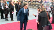 The Hangover Part III red carpet ENGLAND London Leicester Square The Empire EXT Fans and posters / Bradley Cooper on red carpet and signing...