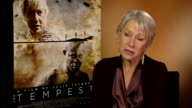 'The Tempest' Dame Helen Mirren interview On Prospero becoming Prospera and male actors reaction to her playing a formerly male role and male actors...