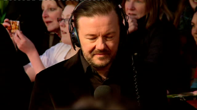 UK premiere of 'Muppets Most Wanted' Red Carpet interviews **Music heard SOT** James Bobin interview SOT Fans in crowd / various of red carpet /...