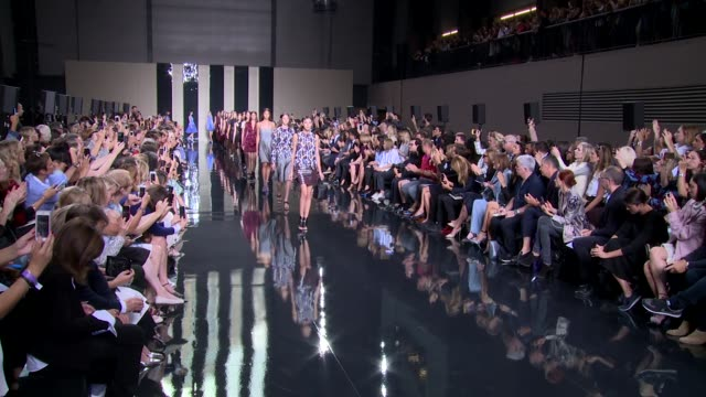 Finale at Christopher Kane SS15 London Fashion Week on 15th September 2014 in London England
