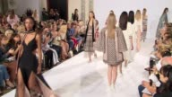 Finale at Temperley London SS15 London Fashion Week on 14th September 2014 in London England