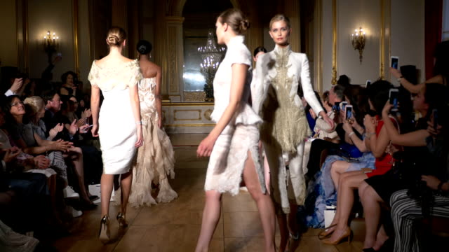 Finale Fashion designer Grace Chen presents her new Simply Divine collection Fashion catwalk show took place at Lancaster House London on June 11 2016