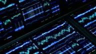 Finanzdaten und Diagrammen
