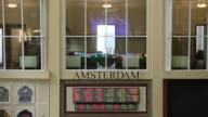 Financial traders monitor data inside the Amsterdam Stock Exchange operated by Euronext NV in Amsterdam Netherlands on Friday Sept 15 Photographer...