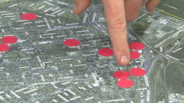 KTVI Finger Pointing at Map of East St Louis on September 19 2012