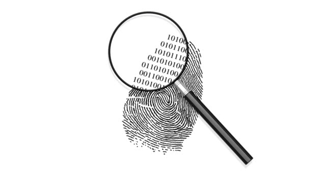 Fingerprint Binary Code