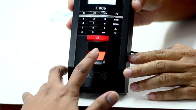 Fingerprint scaning
