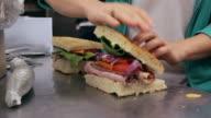 Finishing Sandwiches
