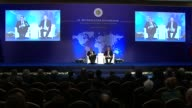 Finnish Foreign Minister Timo Soini adresses ambassadors during the 9th Ambassadors' Conference in Ankara Turkey on January 11 2017 Turkish Foreign...