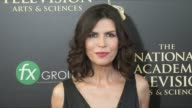 Finola Hughes at the 2014 Daytime Emmy Awards at The Beverly Hilton Hotel on June 22 2014 in Beverly Hills California