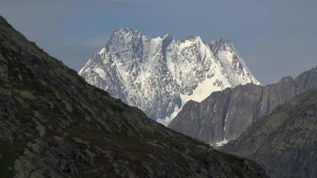 Finsteraarhorn, Bernese Alps, Switzerland, Europe