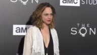 Fiona Dourif at the Premiere Of AMC's 'The Son' on April 03 2017 in Hollywood California