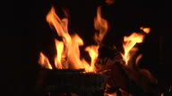 fire 006 720p24 with audio SEAMLESS LOOP