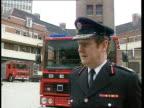 Fire Deaths Decrease ENGLAND West Midlands CMS Graham Meldrun intvw SOT Children are vunerable in fires for various reasons INT LA Man on ladder...