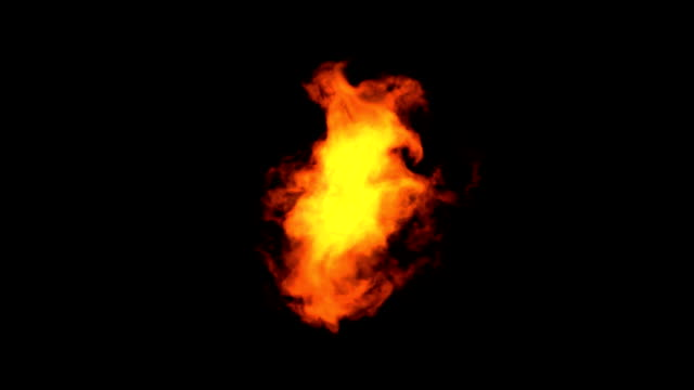 Fire Elemental - Isolated