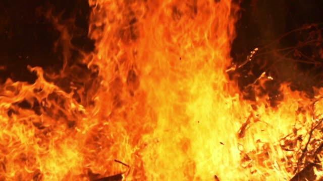 Feuer Flammen (Super Zeitlupe)
