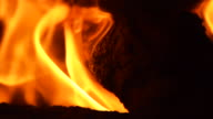 Fire flames_extreme highspeed closeup