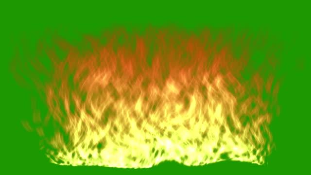 Fire - groen scherm
