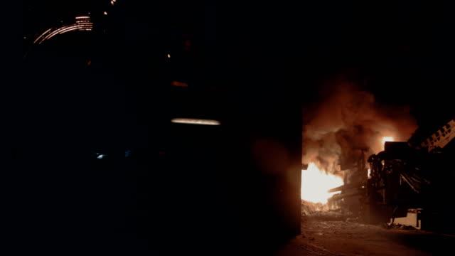 Brandschutz im Hochofen, Stahlwerk